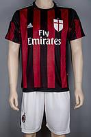 Футбольная форма Милан 2015-2016 S (155-165 см)