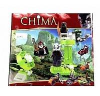 Детский конструктор CHIMA с вышкой