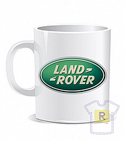 Купить кружку с логотипом Land Rover
