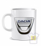 Купить кружку с логотипом Dacia