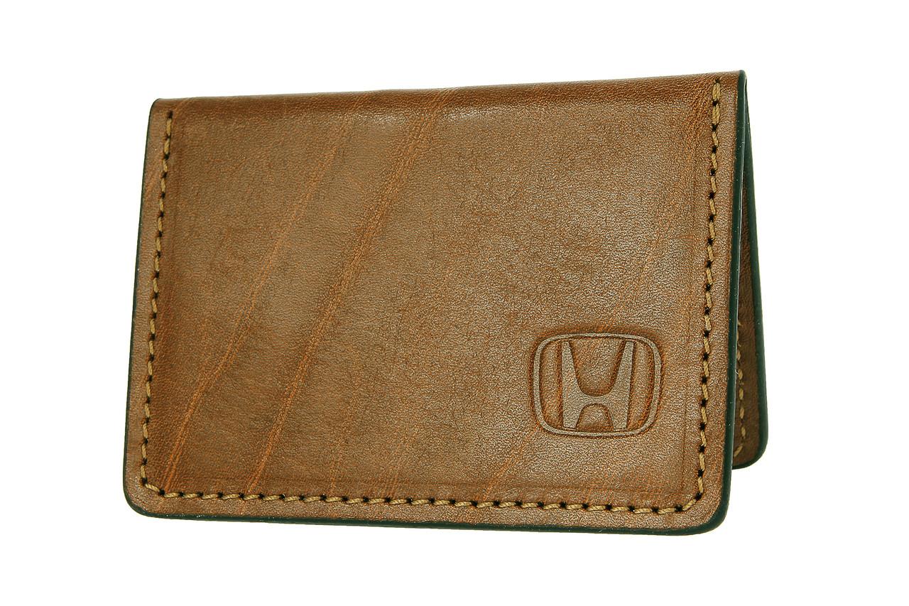 Обложка для документов с логотипом Honda