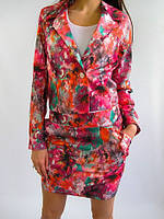 Молодежная юбка с растительный принт, фото 1