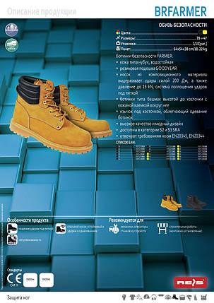 Захисні черевики (спецвзуття) BRFARMER Y, фото 2