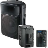 Активная акустика EV15ANALOG с ДИСПЛЕЕМ MP3 - плеер SDcard плеер