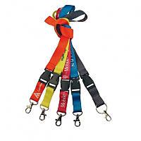 Нейлоновый шнурок на шею шириной 2 см