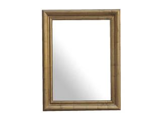 Зеркало Elite 150х90 золотистое
