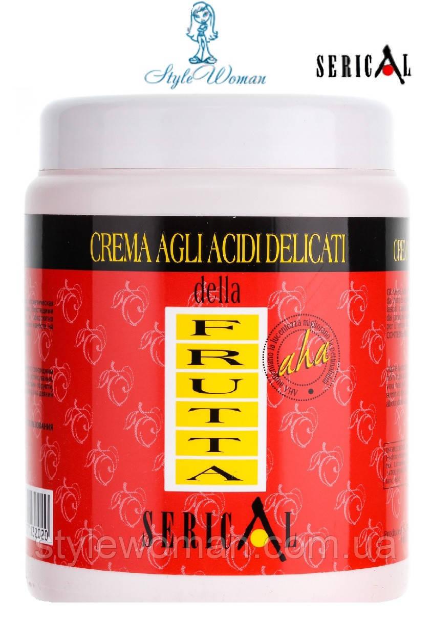 Крем-маска з вмістом м'яких фруктових кислот Pettenon Serical Серикал 1000мл для всіх типів волосся