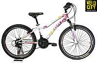 Велосипед для девочки розовый Fort Star 24, фото 1