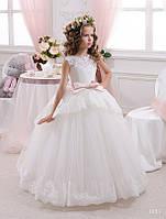Детское нарядное платье 1053 - индивидуальный пошив