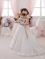 Детское нарядное платье 1056 - индивидуальный пошив
