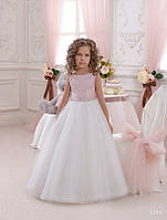 Детское нарядное платье 1058 - индивидуальный пошив