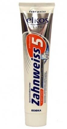 Зубная паста Elkos Zahnweiss отбеливающая 125 мл, фото 2
