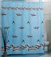 """Шторка для ванной комнаты """"Dolphinarium"""", Miranda. Производство Турция., фото 1"""