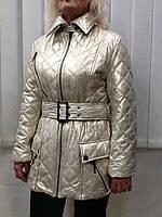 Куртка Balizza средней длинны светлая золотистая, фото 1