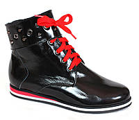 Ботиночки кожаные для девочки Каприз 32,33 раз.