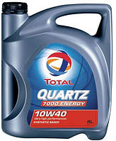TOTAL QUARTZ 7000 ENERGY 10W40. 4x4 lt (4 л) олива моторна