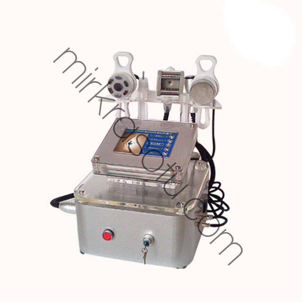 Аппарат Slim-9 Кавитация, вакуумно роликовый массаж , биполяр, РФ лифтинг,микротоки