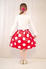 Детское оригинальное, нарядное платье  из фактурного трикотажа., фото 3