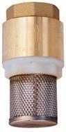 Зворотній клапан з фільтром грубої очистки