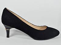 Замшевые туфли Clotilde на маленькой шпильке