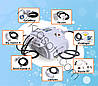 Аппарат для Elos - МК600 9 в 1 IPL, E-light, кавитация, рф лифтинг, баночный массаж с рф лифтингом