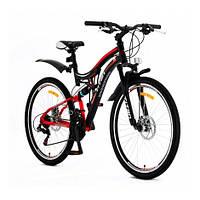 Велосипед горный двухподвесный Titan Lazer 26″ 2016