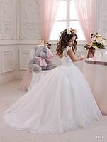 Детское нарядное платье 1071 - индивидуальный пошив