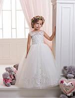 Детское нарядное платье 1072 - индивидуальный пошив