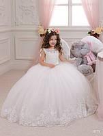 Детское нарядное платье 1073 - индивидуальный пошив
