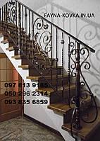 Перила ковані на сходи 2500, фото 1