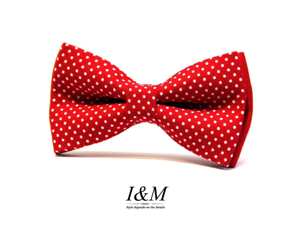 Краватка-метелик I&M Craft червоний дитячий (010512k)