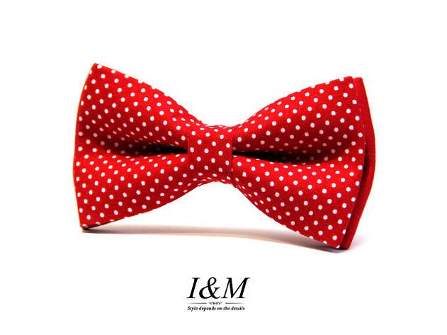 Краватка-метелик I&M Craft червоний дитячий (010512k), фото 2