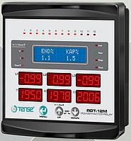 Контроллер реактивной мощности, 3-х фазный, 12 ступеней TENSE цена купить, фото 1