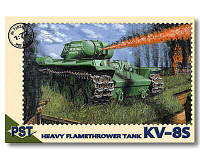 Танк КВ-8С      1\72       PST 72026, фото 1