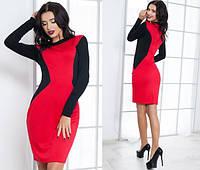 d3c4b6b3bae Красное платье с черными вставками в Украине. Сравнить цены