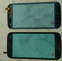 Explay X-Tremer A07-S9203E TF04590-TY тачскрін сенсор чорний оригінальний