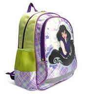 Рюкзак Lady фиолетовий/зелёный OL-5714-1