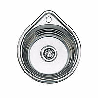 Кухонная мойка  из нержавеющей стали  ULA HB 4450 ZS, satin