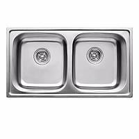 Кухонная мойка  из нержавеющей стали  ULA HB 5104 ZS, satin