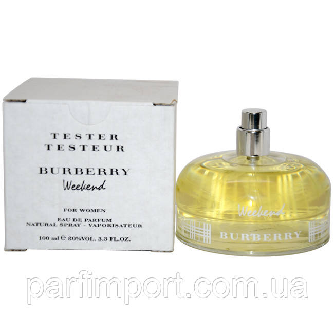 BURBERRY WEEKEND for WOMEN EDP 100 ml TESTER парфумированная вода жіноча тестер (оригінал оригінал Великобританія)
