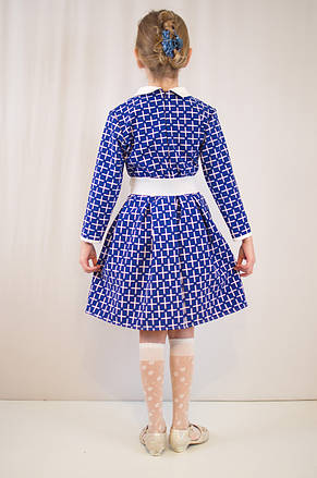 Детское стильное, нарядное, праздничное платье с поясом., фото 3