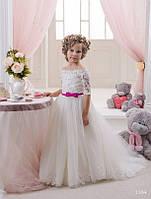 Детское нарядное платье 1104 - индивидуальный пошив