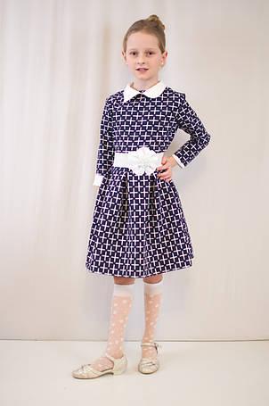 Детское  нарядное, праздничное платье с поясом., фото 2