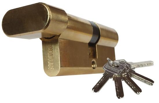 Цилиндровый механизм секретности Мангуст М90(35*55)Z-С-IB