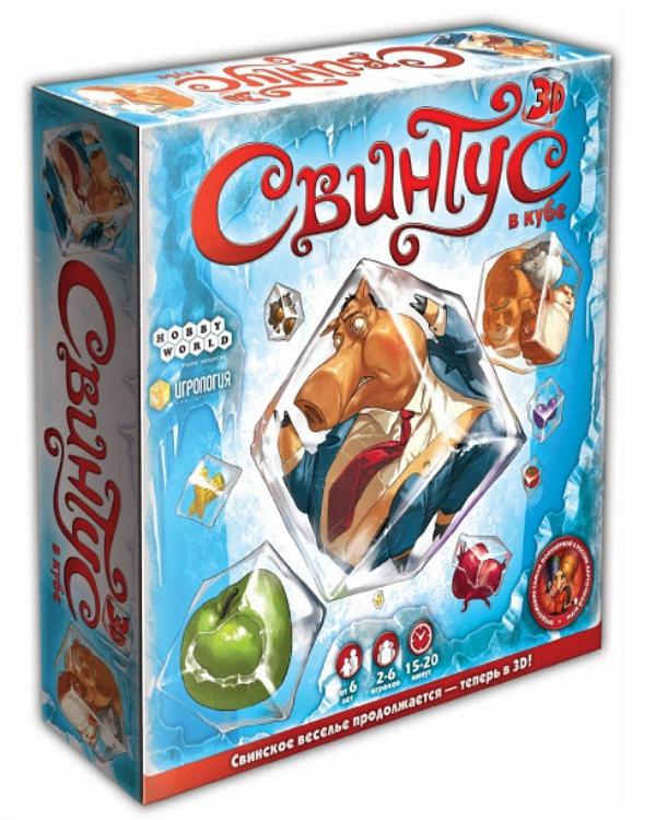 """Настольная игра """"Свинтус 3D"""" Hobby World"""