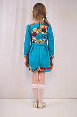 Детское красивое, стильное трикотажное платье дешево от производителя., фото 2