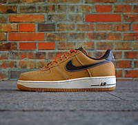 Кроссовки Nike Air Force 1 Low Boot Wheat & Baroque Brown