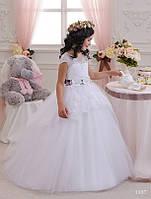 Детское нарядное платье 1107 - индивидуальный пошив