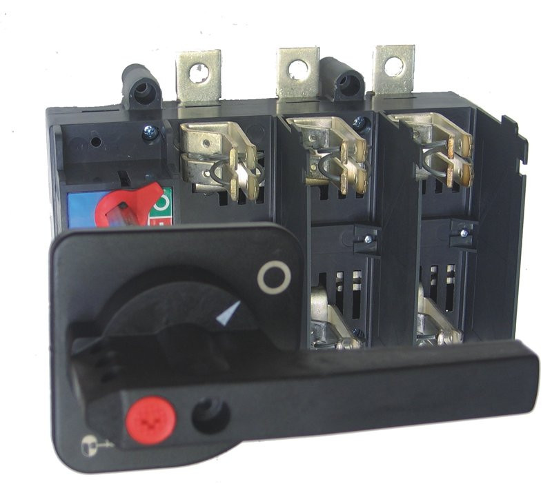 Разъединитель нагрузки ETI LAF5/D 630A 3P NH3