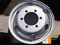Диск колесный Газель 16H2х5,5J ИВЕКО УСИЛЕННЫЕ с нипелем! Металл (круглые отв. 6шт) (пр-во ДК)